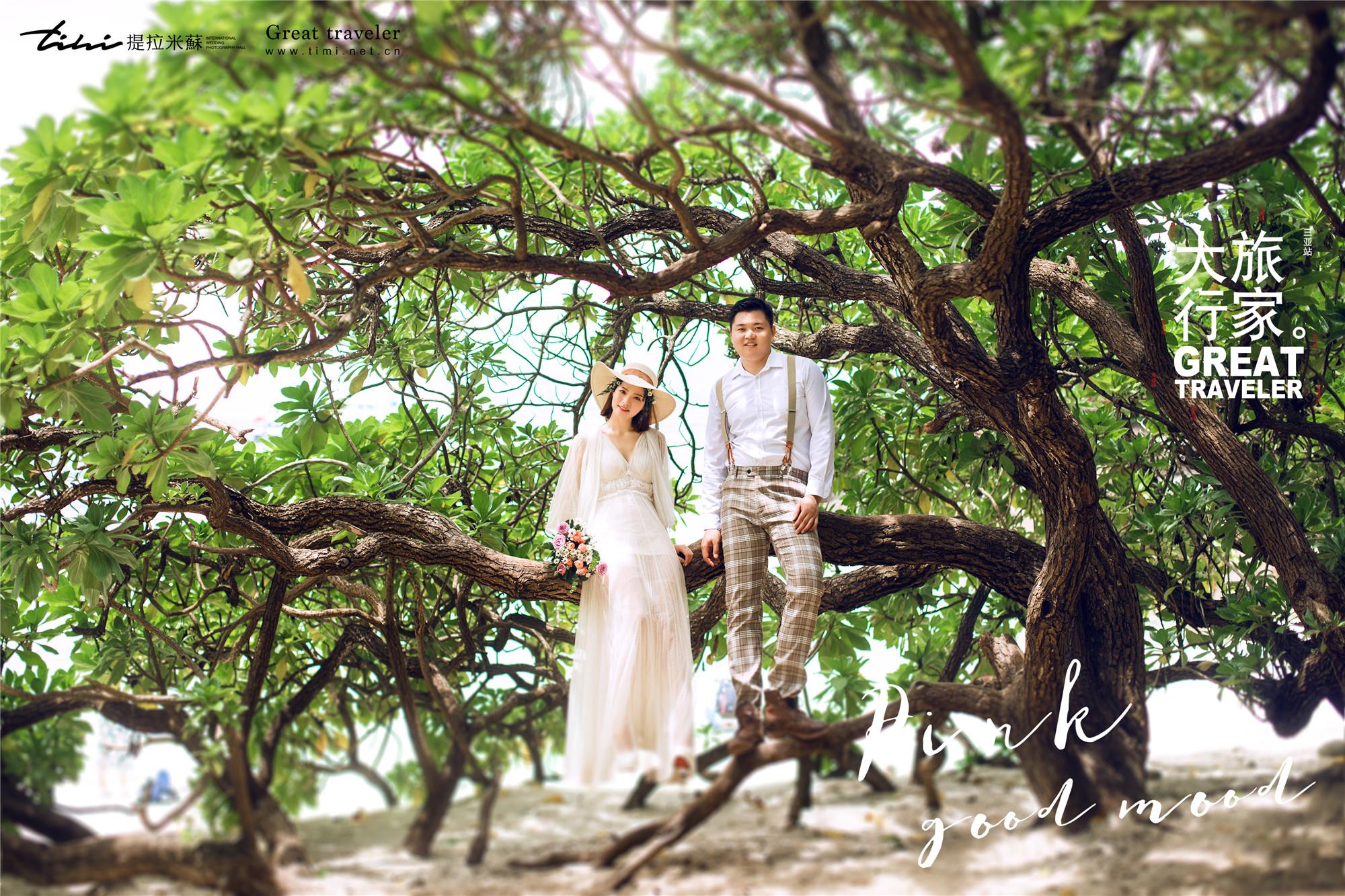三亚哪些景点拍摄婚纱照好看