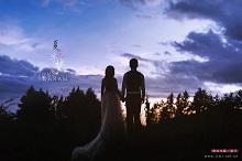 丽江婚纱摄影拍摄最美的夕阳