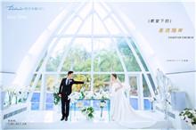 巴厘岛屿的特色妆搭配海景婚纱照