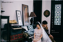古典的艺术婚纱照怎么流露真实感