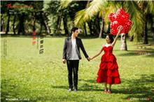 以专业服务出名的巴厘岛婚纱摄影