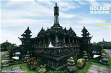 当代的艺术美感的巴厘岛婚纱照