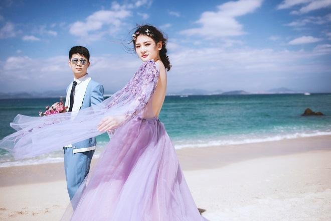 厦门婚纱摄影不同的价格都会有不同的效果