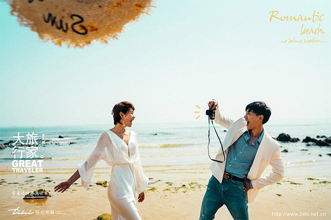 夏季拍青岛海景婚纱照的注意事项