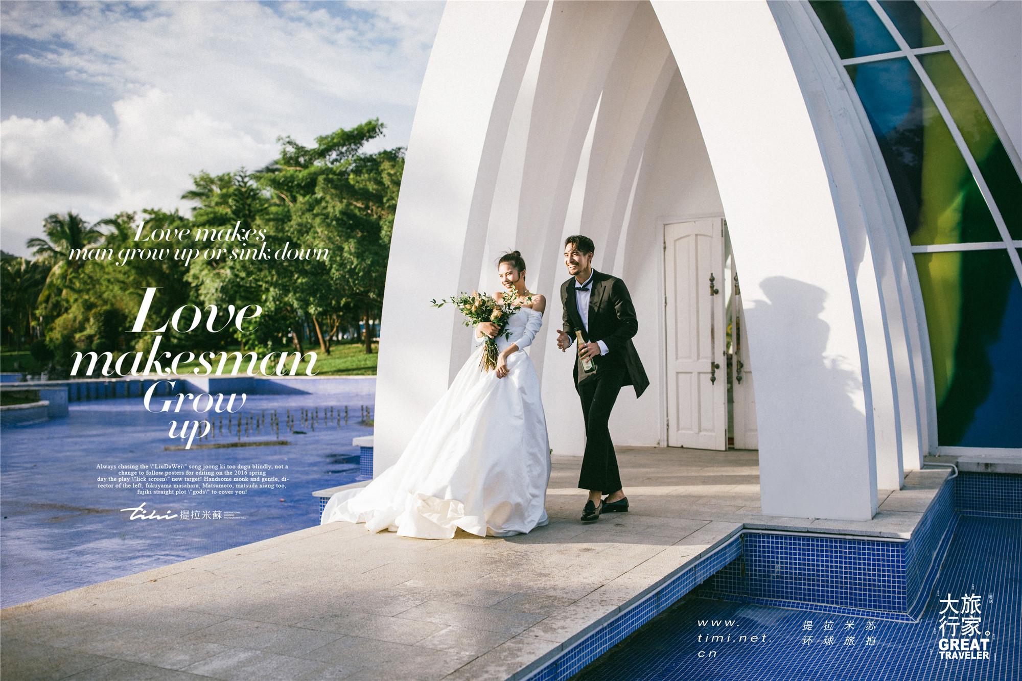 日本拍婚纱照需注意的事项